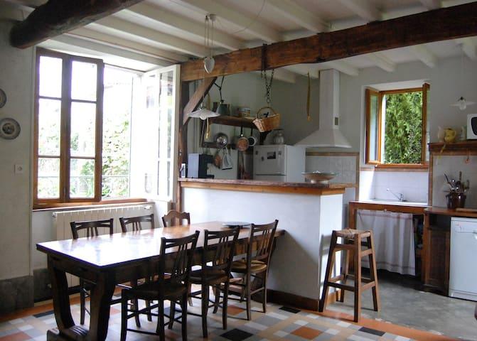 Jolie maison 1906 renovée - Arbon - Huis