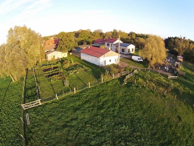 Buchbinderhof in der Uckermark - Gerswalde - Maison
