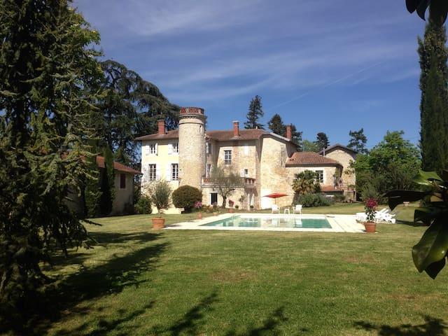 Château avec piscine - Astaffort - Castillo