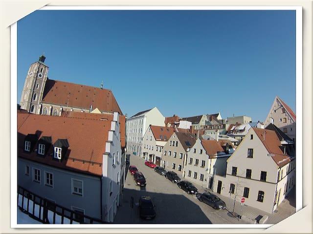 Zimmer mitten in der Altstadt - Ingolstadt - Leilighet