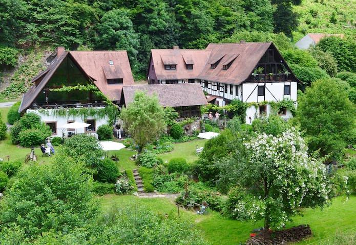 Historische Mühle bei Heidelberg - Weinheim - Rumah