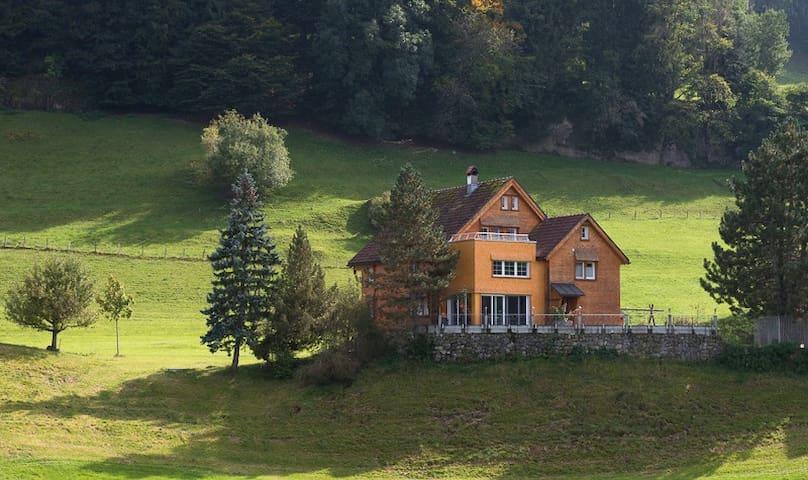 Ferienwohnung auf Bauernhof - Appenzell - Departamento