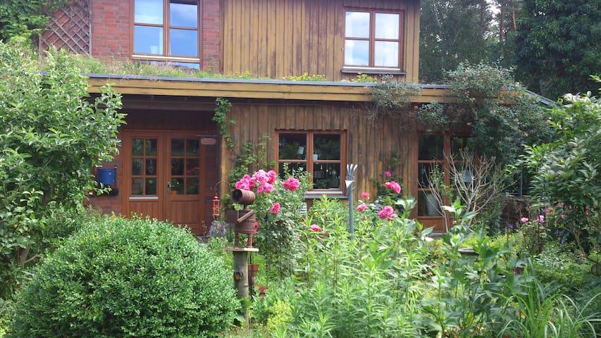 Ökohaus mit Garten und Wald - Lingen (Ems) - Hus