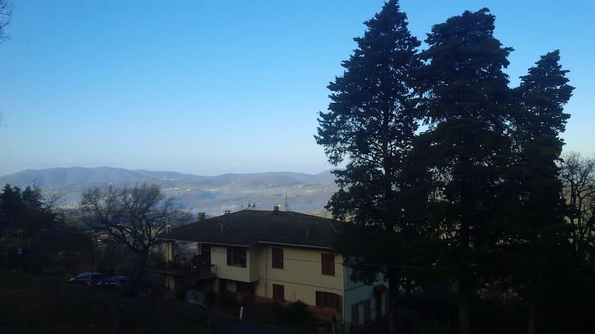 Vista stupenda sulla Toscana - Reggello - Wohnung