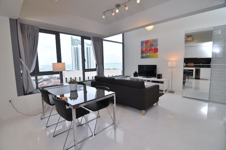 City Center SCENIC High-Floor LOFT, 1-4 Guests#AS - Singapur - Çatı Katı