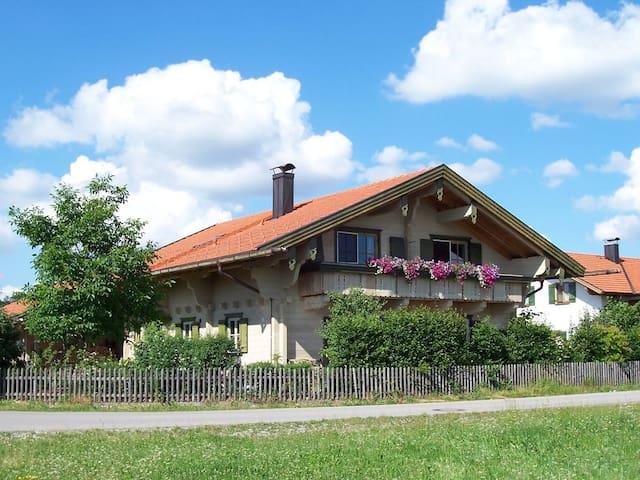 Bavarian  alpin loghouse - Burggen - Departamento