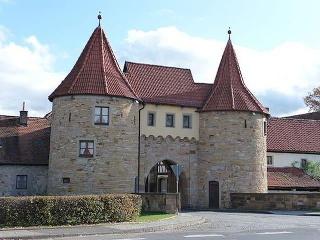 Little Bavarian Cottage...... - Prichsenstadt - Casa
