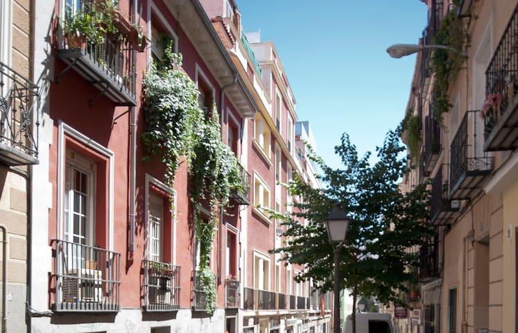 Bright room in the Gran Via!!!! - Madri - Casa