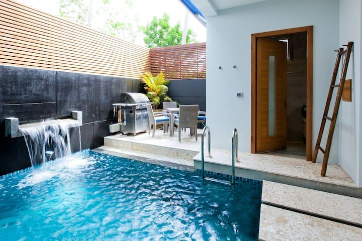 Stunning private pool townhouse, close to ocean - Tambon Rawai