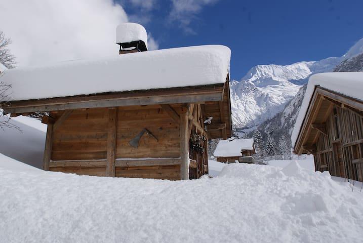 Mazot au pied du Mt Blanc - Saint-Gervais-les-Bains - Haus