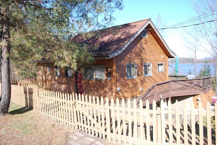 Lakefront cabin near Saranac Lake - Saranac Lake - Stuga