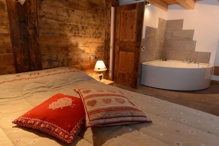 Vieilles maisons d'Introd (genzianella) - Plan - Appartement
