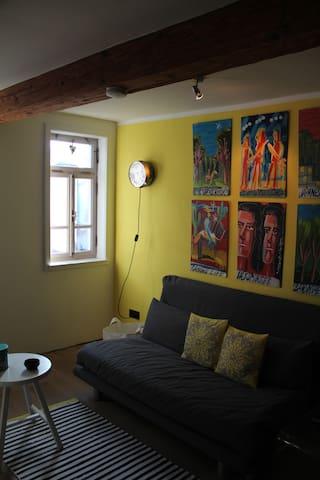 Wunderschöne kleine Fachwerkwohnung - Münster - Lägenhet