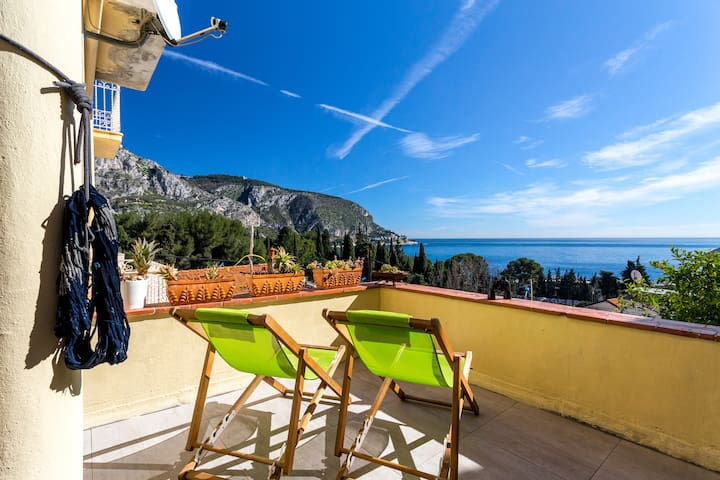 Luxurious apartment near beach - Èze - Appartement