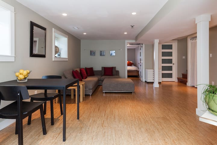 Large, Modern & Quiet Private Space - Vancouver - Hus