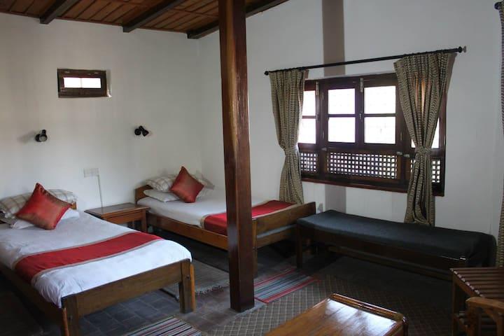 Krishna House - Twin Room - Bhaktapur