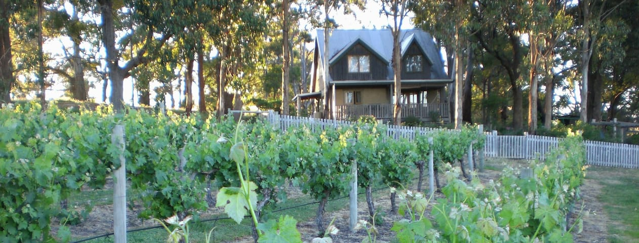 Vineyard View Mudbrick Cottage - Caveat - Casa
