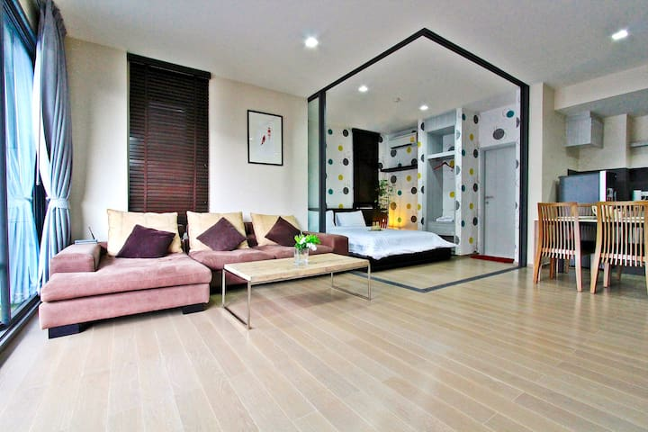 2BR Luxury Condo-23 Degree Khao Yai - Mu Si - Apartament