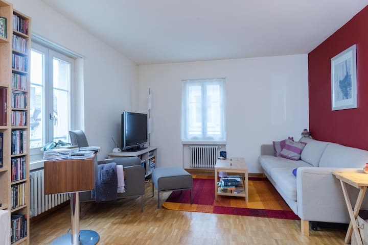Cosy flat close to everything - Zürich - Leilighet