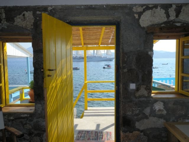 The Yellow Boat House - Milos