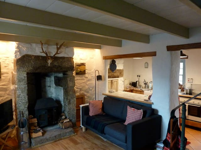 Romantic Traditional Cottage - Ludgvan - Huis