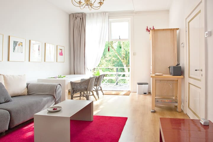 Spacious room with balcony & view - Almelo