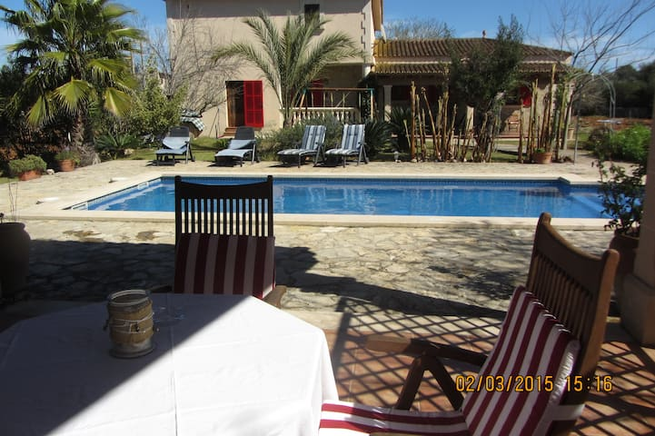 Private villa with swimming pool. - Sencelles