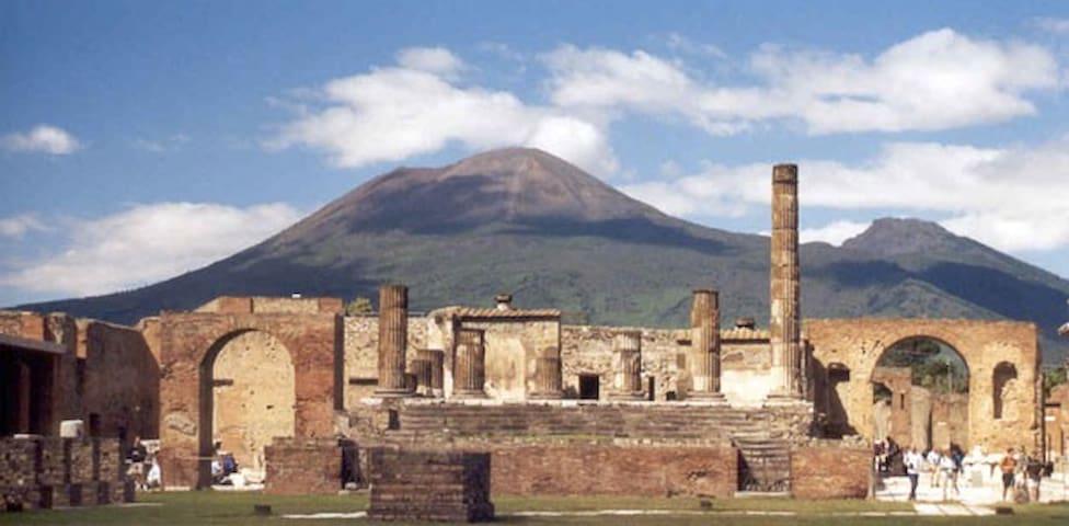 Pompei Ruins, Vesuvio,Capri,Naples - Помпеи - Дом