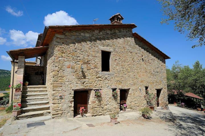 "farmhouse  "" Criket and Cicade"" - Monte Santa Maria Tiberina"