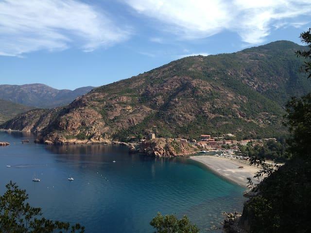 Maison Corse Du Sud Proche Porto - Marignana - Hus