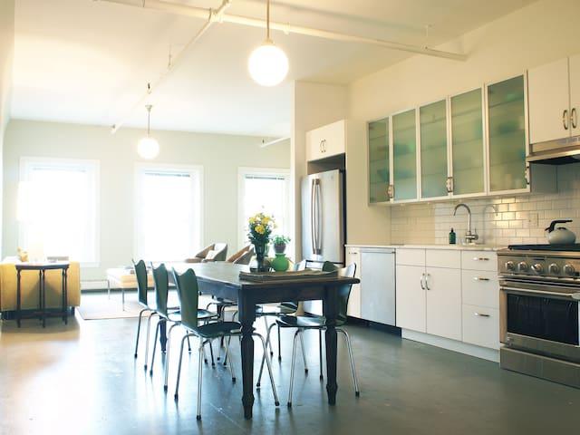 Mid Coast Maine Loft Style Apt - Rockland - Apartamento