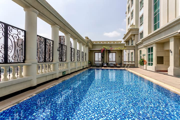 Center 1BR Apart+RooftopPool - Ho Chi Minh City - Apartmen