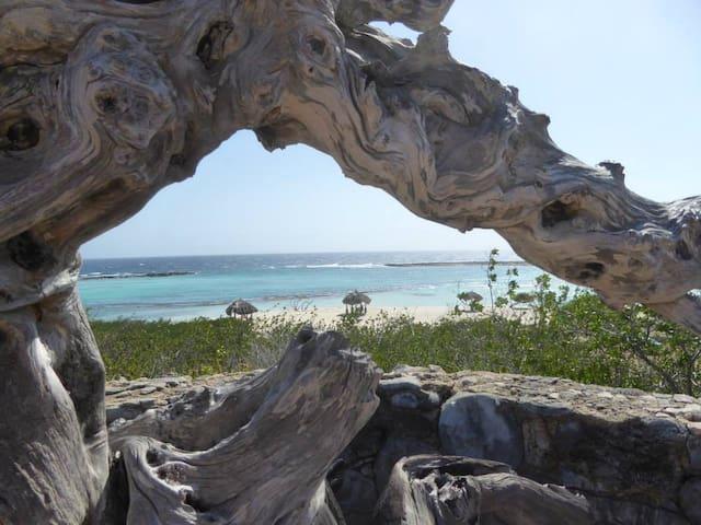 Baby Beach, Aruba Vacation - Seroe Colorado - Casa