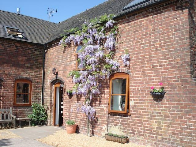 Highfields Farm B&B - Oak Room - Staffordshire - 家庭式旅館