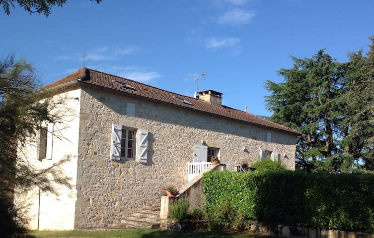 a typical Quercy house - Saint-Denis-Catus - Rumah