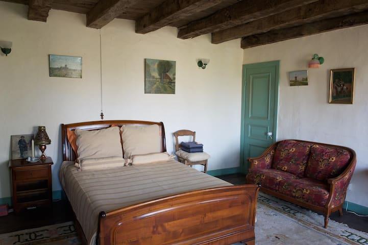 Prive kamer met badkamer - Saint-Bonnet-la-Rivière