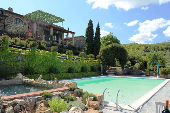"""Il Piaggione-Apt"""" Hunting Lodge"""" - Vagliagli Castelnuovo Berardenga - Apartemen"""