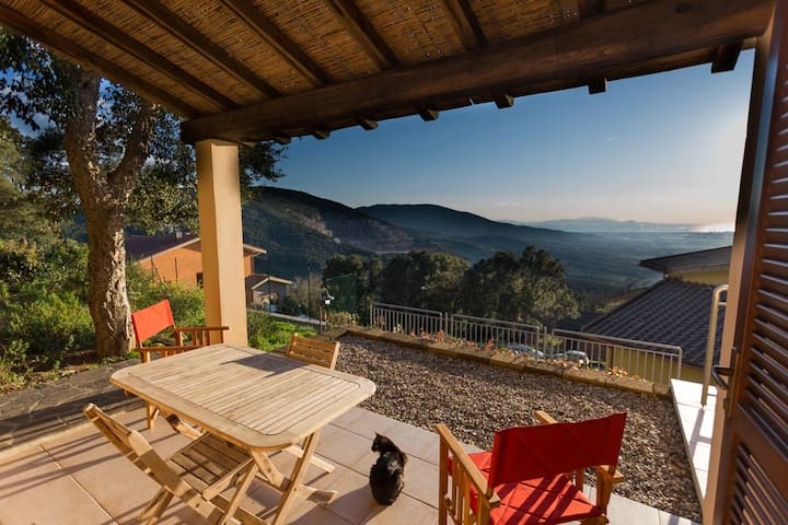 Maremma, in Tuscany, panoramic for2 - Gavorrano - Leilighet