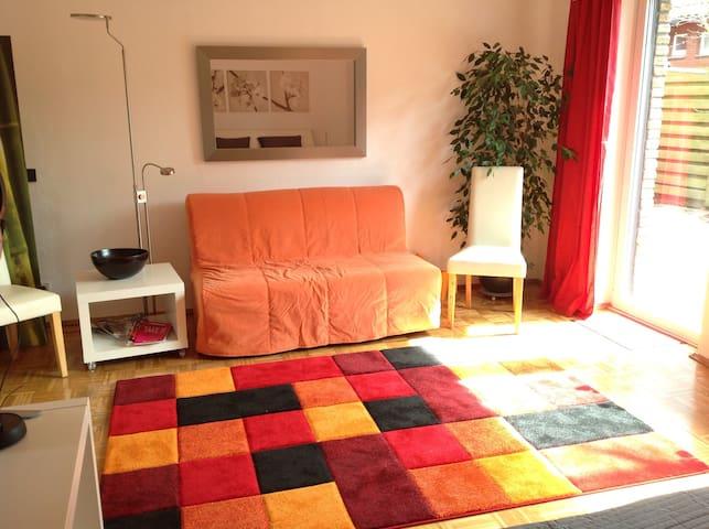 Stadtnahes Chillen mit Terrasse - Münster - Lägenhet