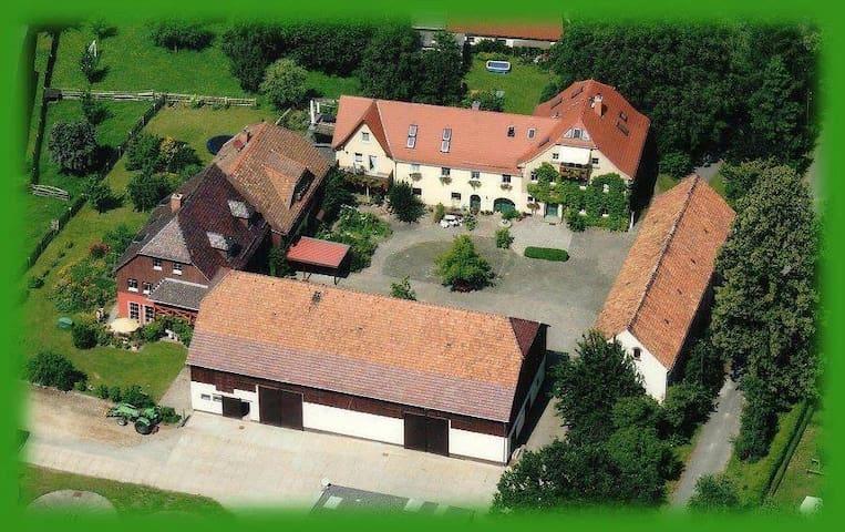 Littehof Landurlaub - peaceful country retreat (2) - Löbau - Apartment