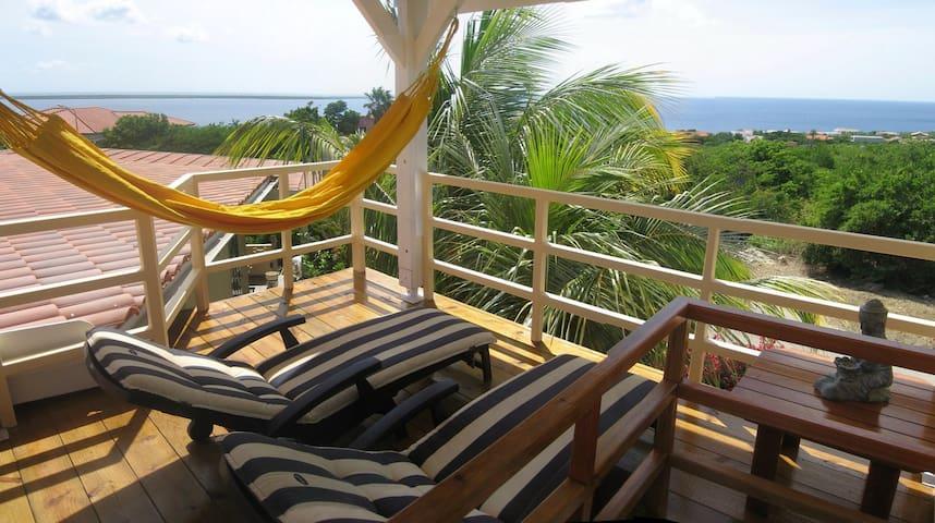 Casa Bougainvillea hill side view - Kralendijk - 公寓
