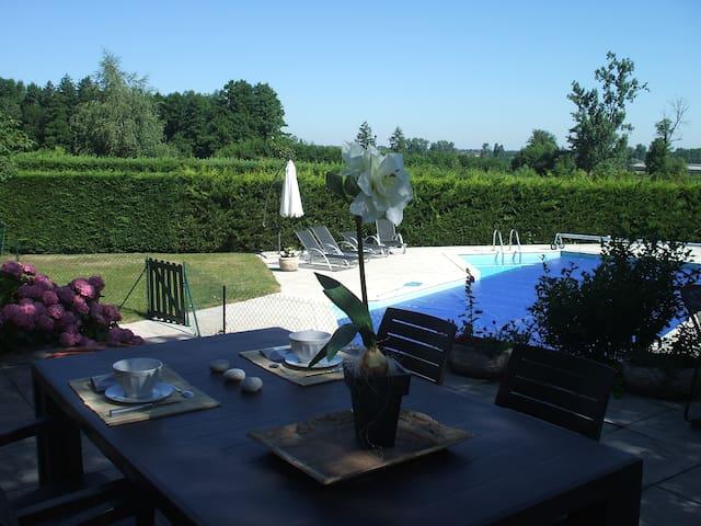 Chambres d'hôtes des Varennes - Saint-Alban-les-Eaux - Bed & Breakfast