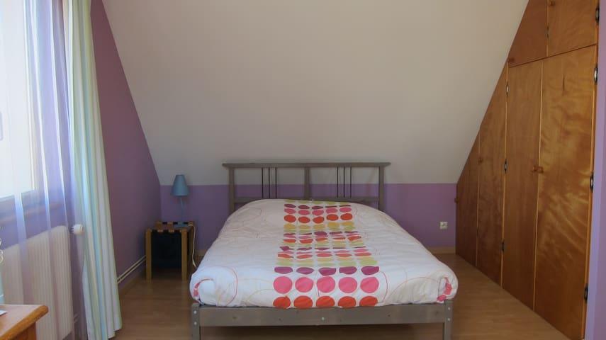 Belle chambre proche de Strasbourg - Ittenheim - Huis