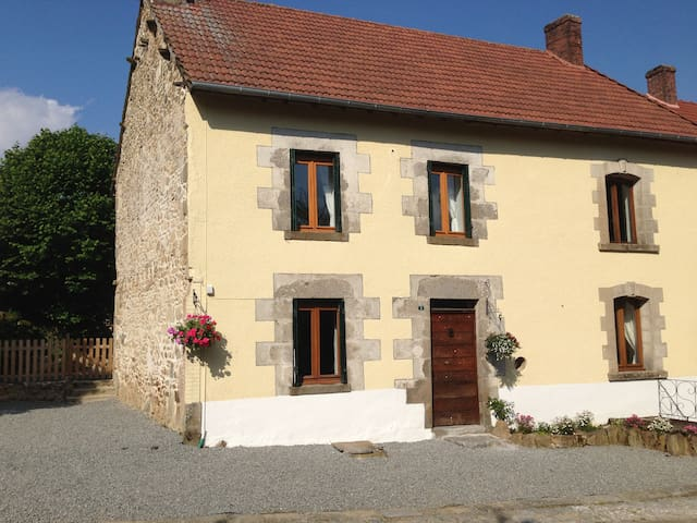 Meadow View Gîtes - Bluebell Cottage (Sleeps 10) - Janaillat