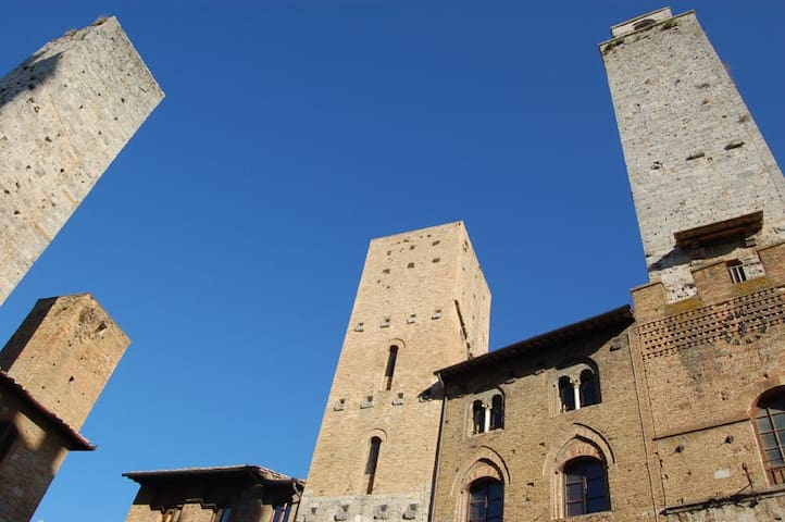 In the main square of San Gimignano - San Gimignano - Appartement