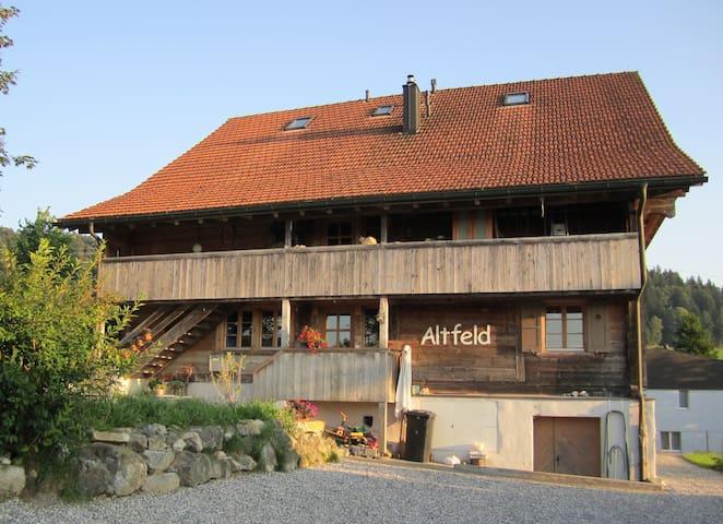 Gezellige kamer in oud boerenhuis - Entlebuch - Huis