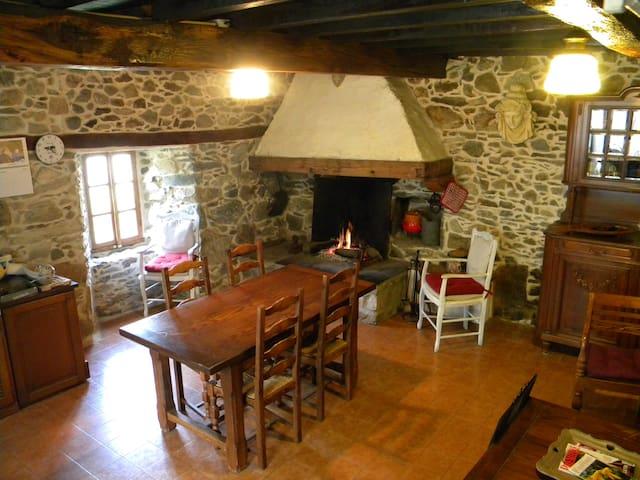 Maison de charme dans les Pyrénées - Esbareich - Casa