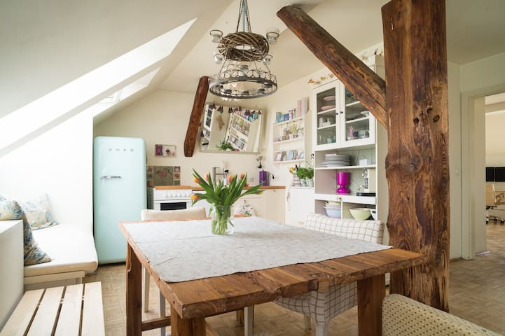Country-style loft in the centre - Graz