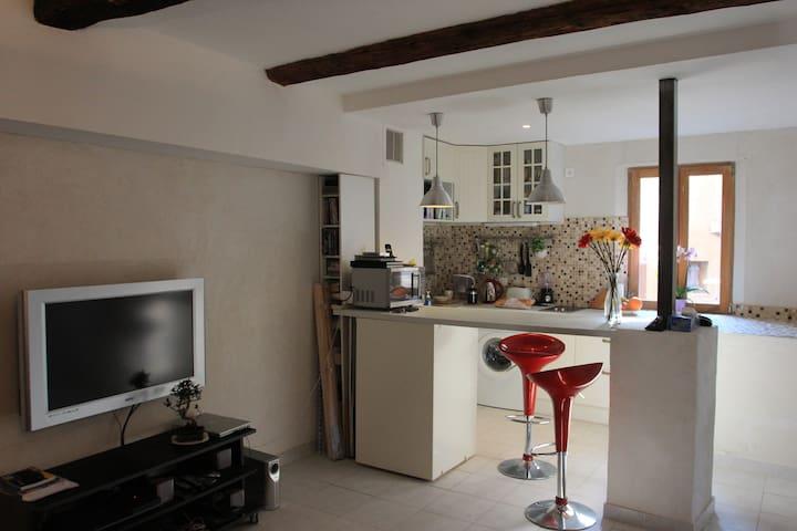 Studio apartment - Roussillon - Daire