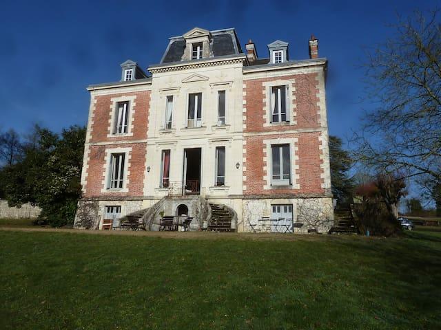 Belle demeure du Val de Loir - Chenu - Pousada